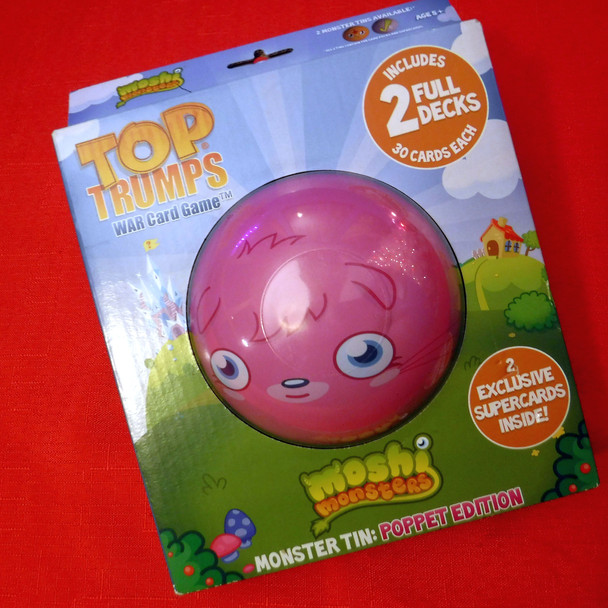 Top Trumps - Moshi Monsters - Monster Tin: Poppet Edition