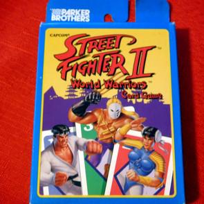 Street Fighter II World Warriors Card Game