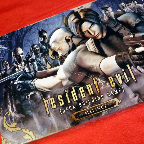 Resident Evil Deck Building Game - Alliance Expansion