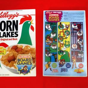 Premiums - Kellogg's - Nintendo Board Games