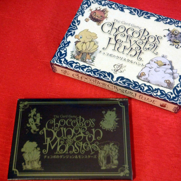 Chocobo's Crystal Hunt & Dungeon Monsters
