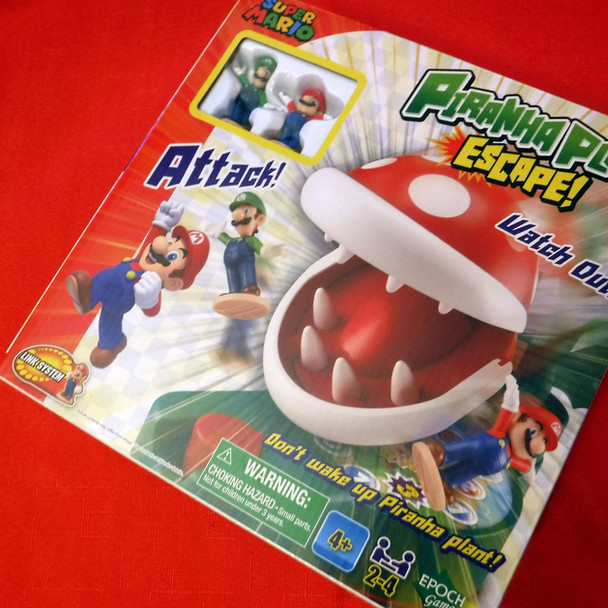 Super Mario - Piranha Plant Escape Game