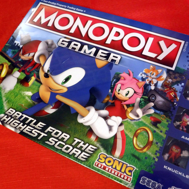 Monopoly Gamer - Sonic the Hedgehog