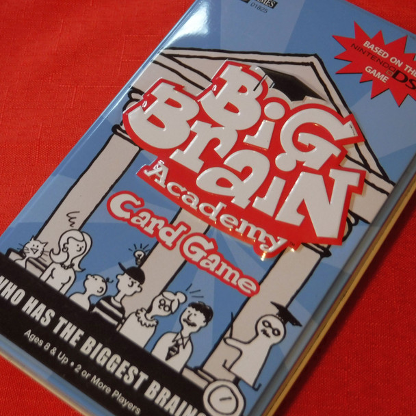 Big Brain Academy Card Game