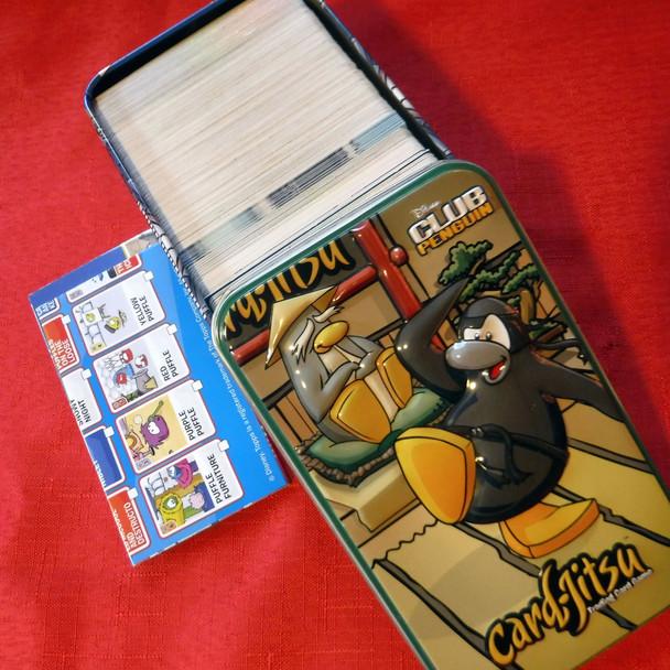 Club Penguin Card-Jitsu