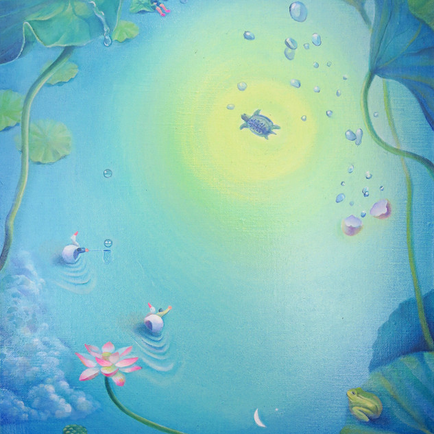ある日の池でのできごと