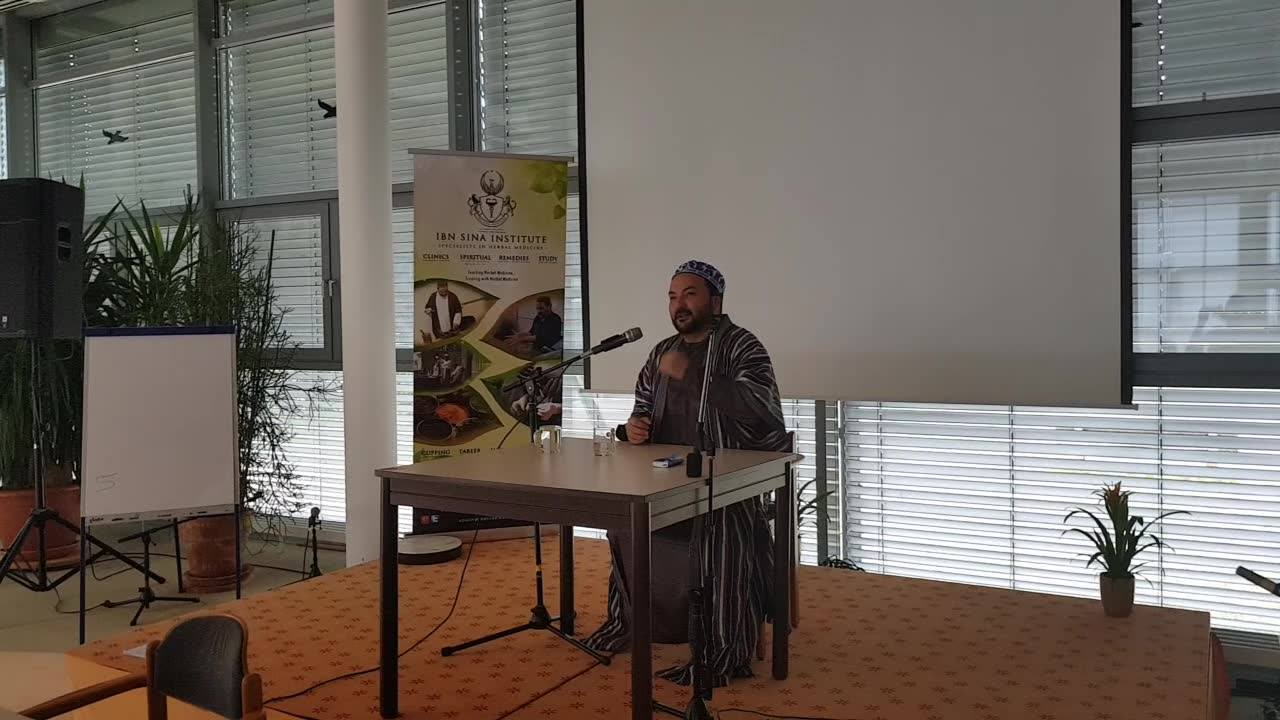 "Short snippet from Shaykh Hakeem Atabek Shukurov's lecture on ""How to collect Herbs and Dry them according to Greco-Islamic Herbal Medicine."