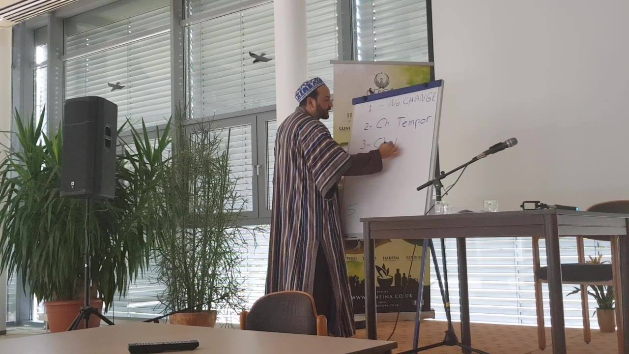 "A Short snippet from Shaykh Hakeem Atabek Shukurov's lecture on ""How to collect Herbs"".  The Hakeem discusses the different degrees of effects of herbs on our bodies according to Greco-Islamic Herbal Medicine."
