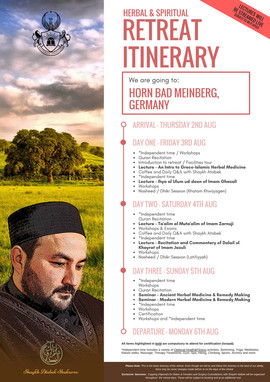 ITINERARY OUTLINE - Germany Spiritual an