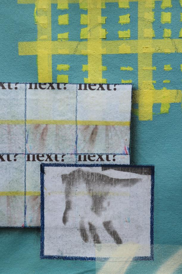 Mixed media on canvas 29cm x 35cm  2020