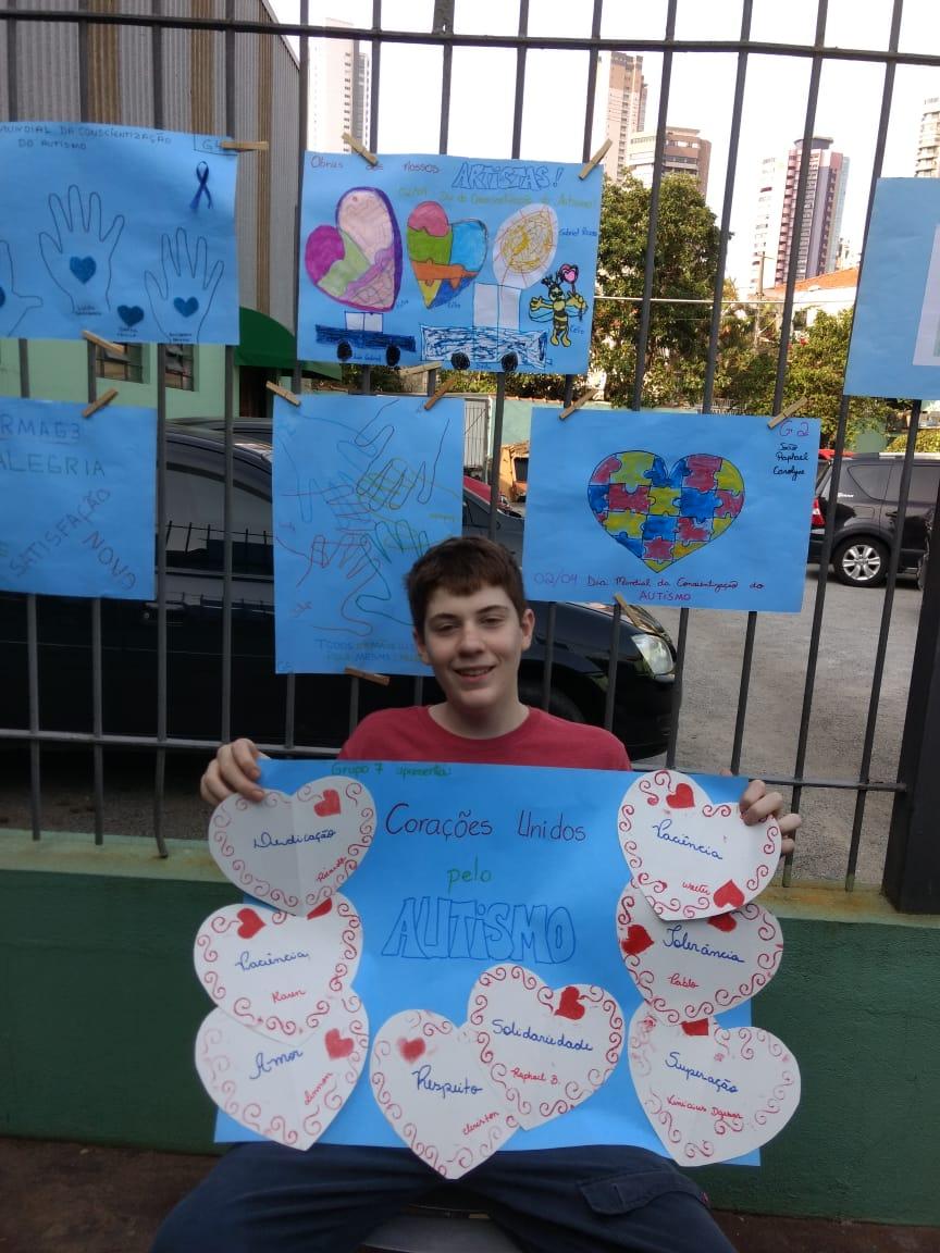 lemda Conscientização do Autismo