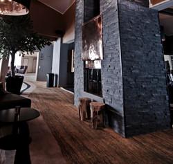 Wohnzimmer Brickstone