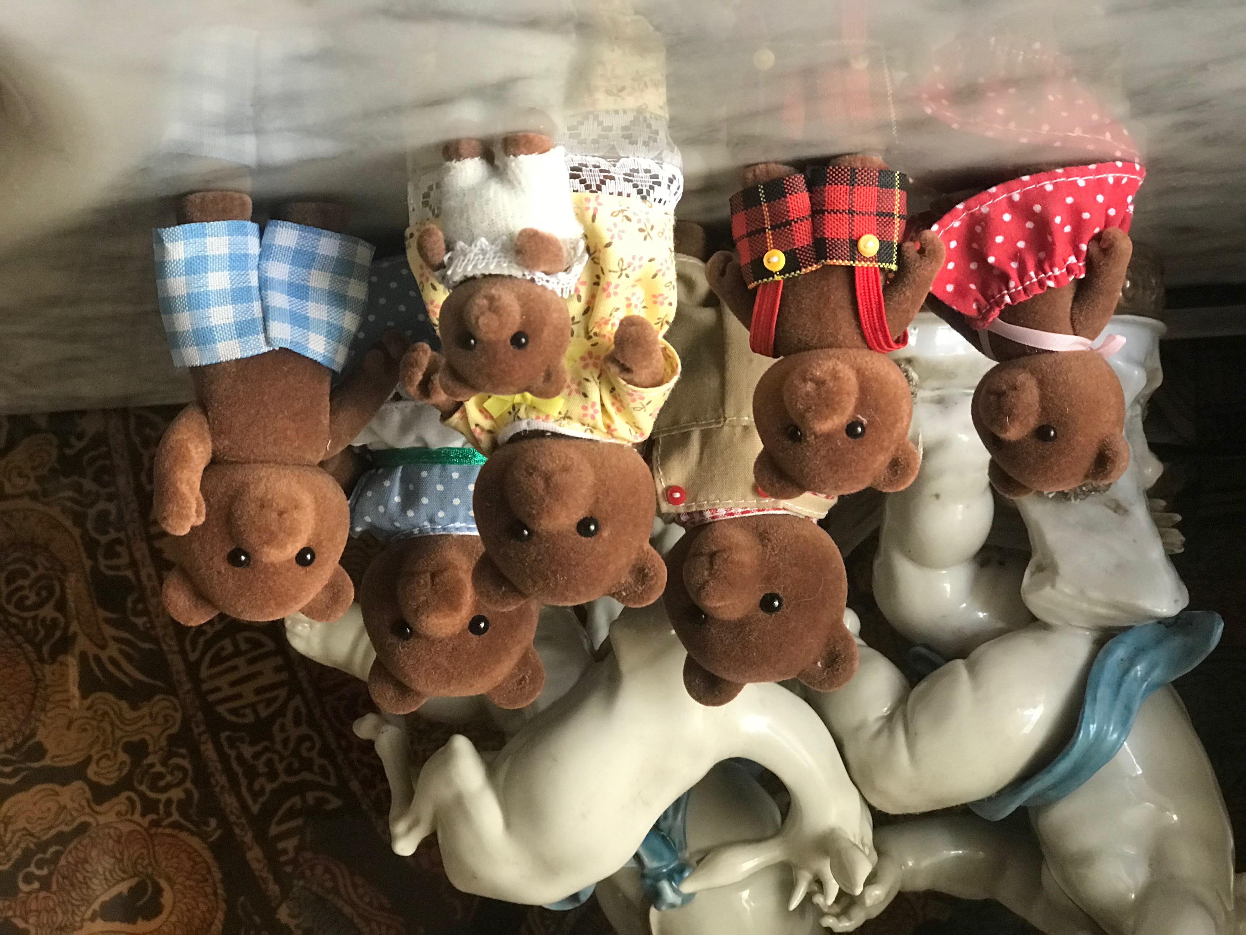 The Timbertop Brown Bear Family