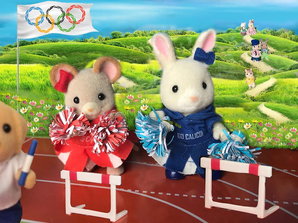 Yuhuu the cheerleaders!