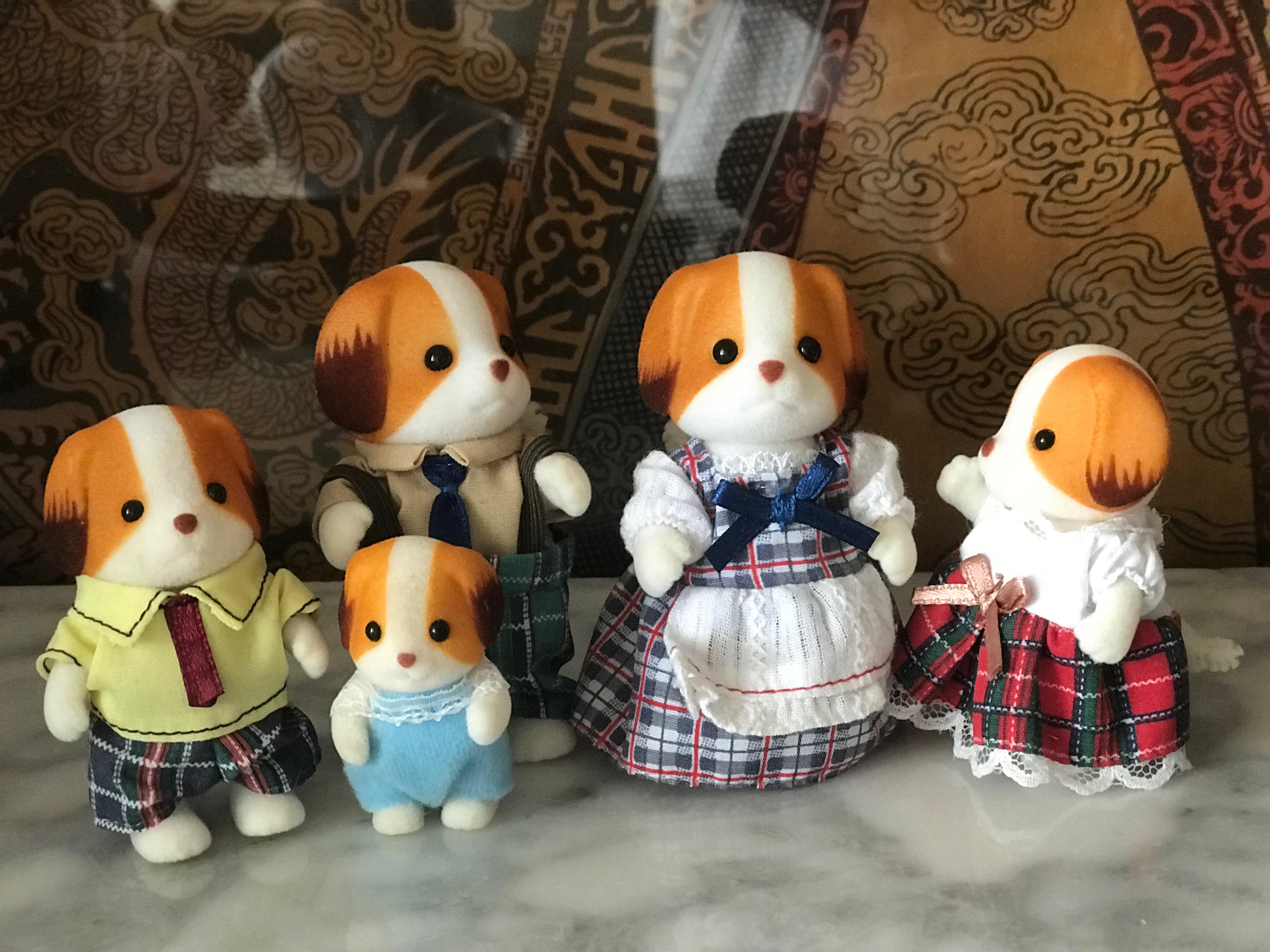 Doughty Chiffon Dogs