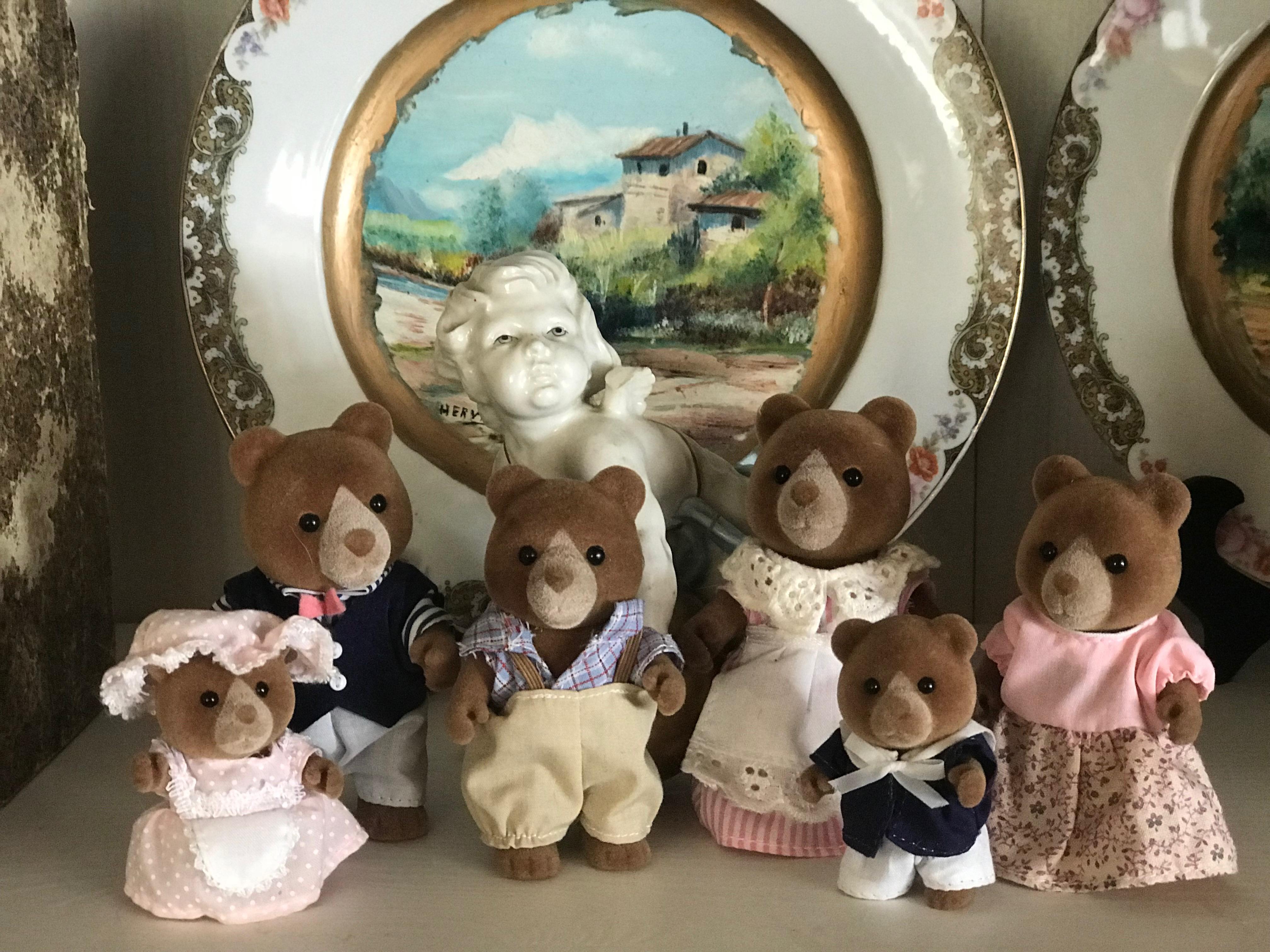 The Marmalade Bear Family