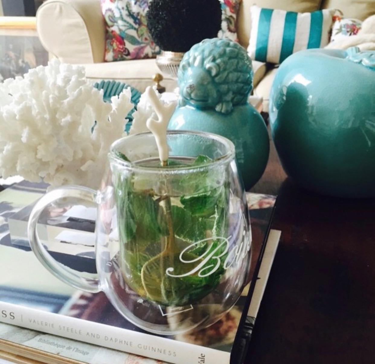 A nice cup of tea mint