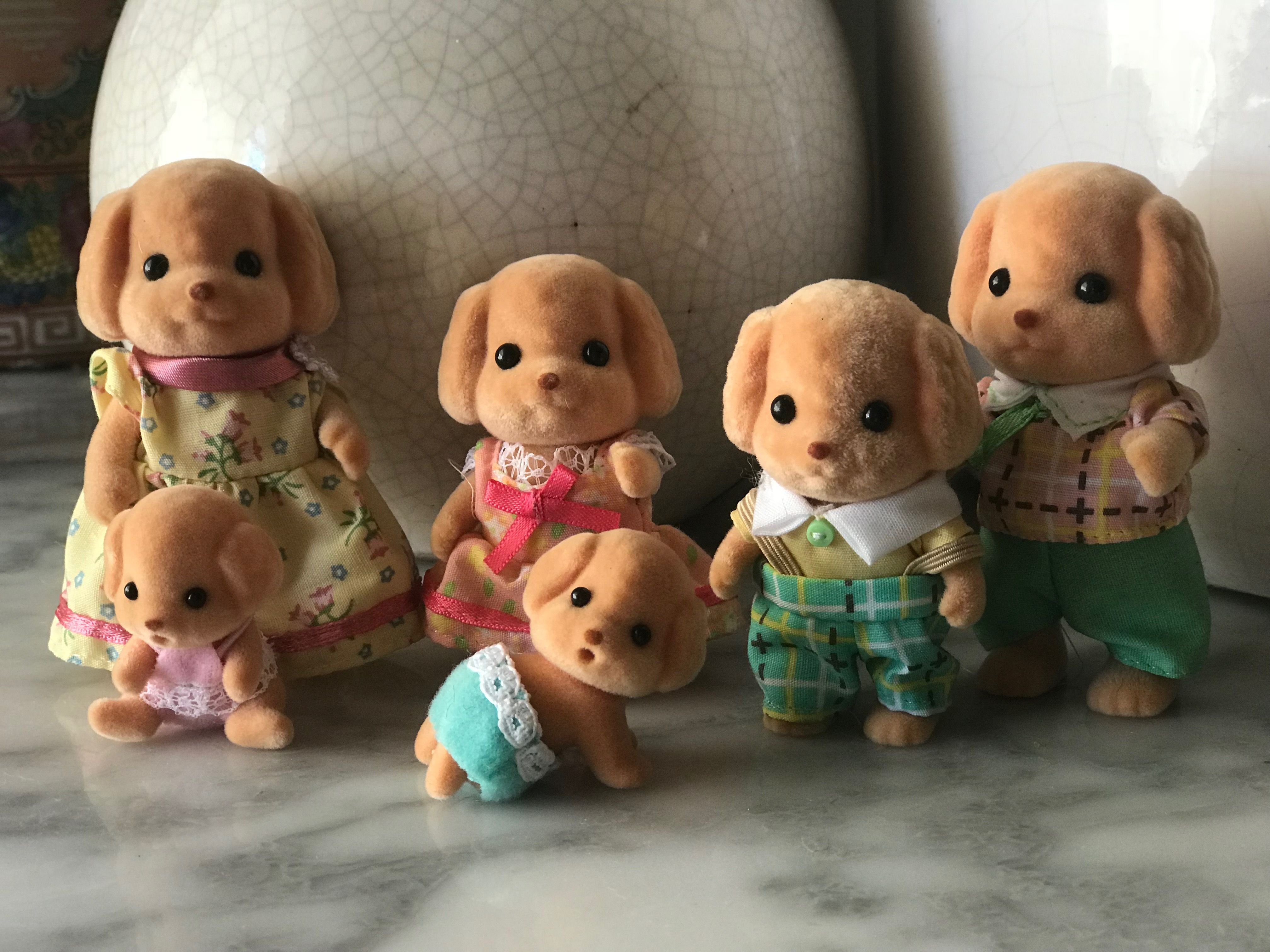 Cakebread Toy Poodles