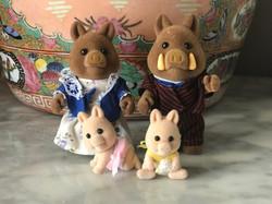 The Truffle Wild Boar Family