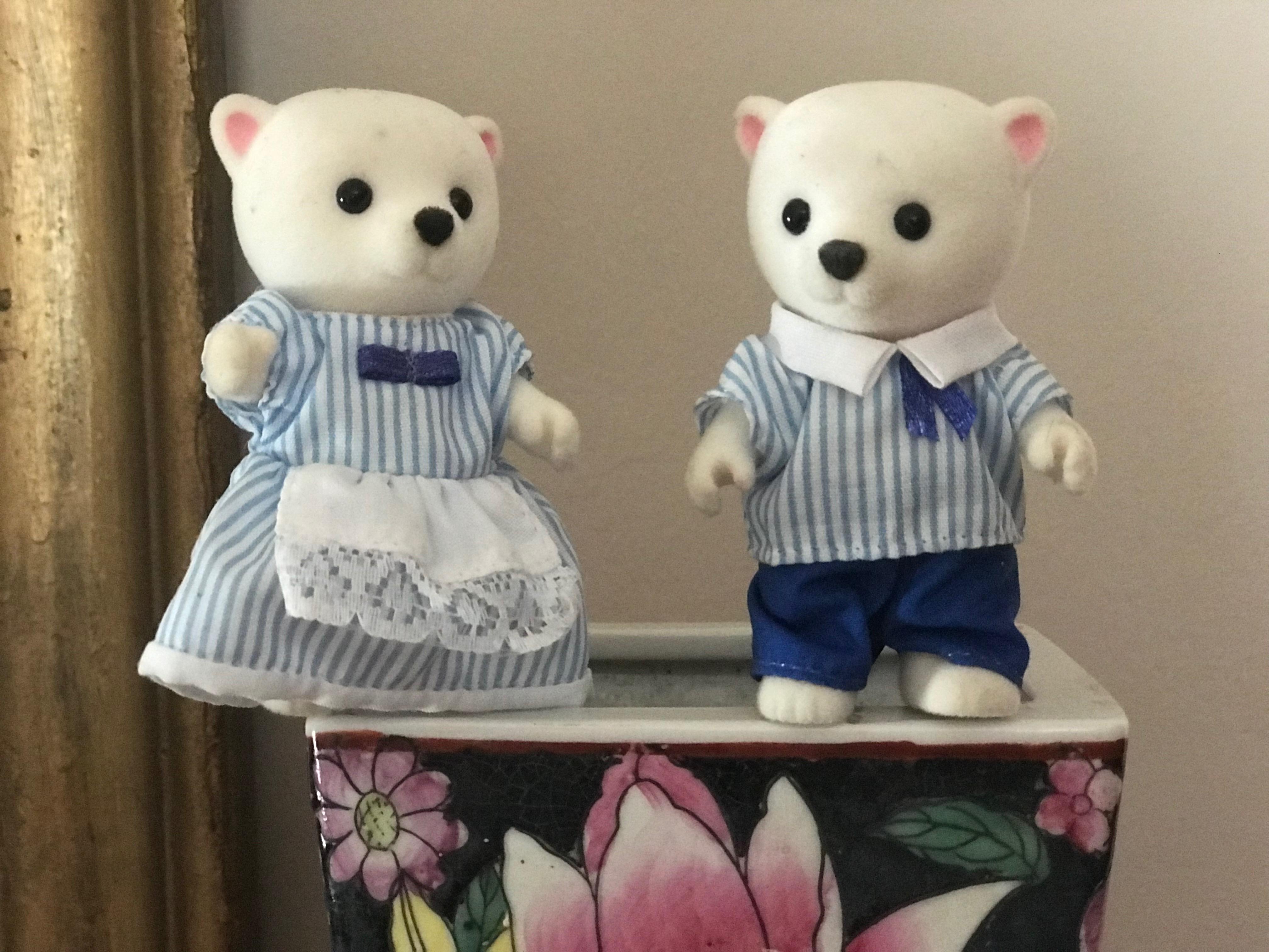 Polar Bears Family