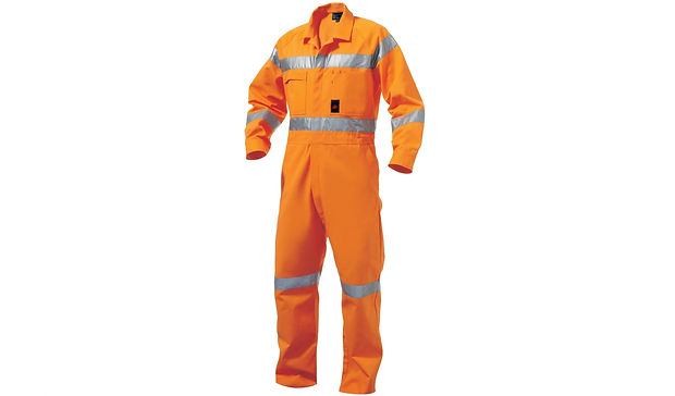 Boiler Suit with Reflective Coatings
