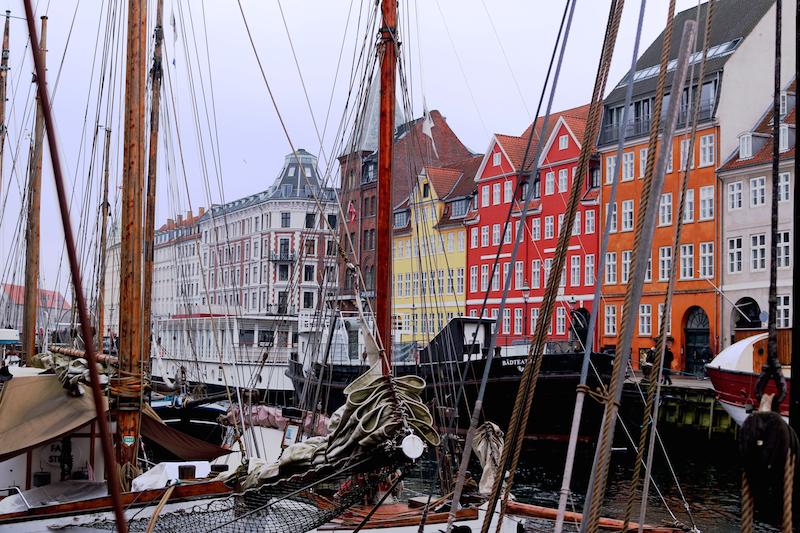 Copenhagen Nyhavn Canal