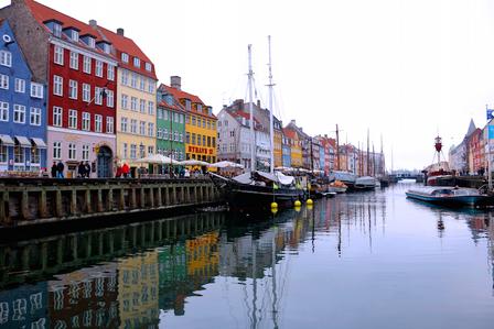 #COPENHAGEN ~ COLOURS, BICYCLES & SNOW