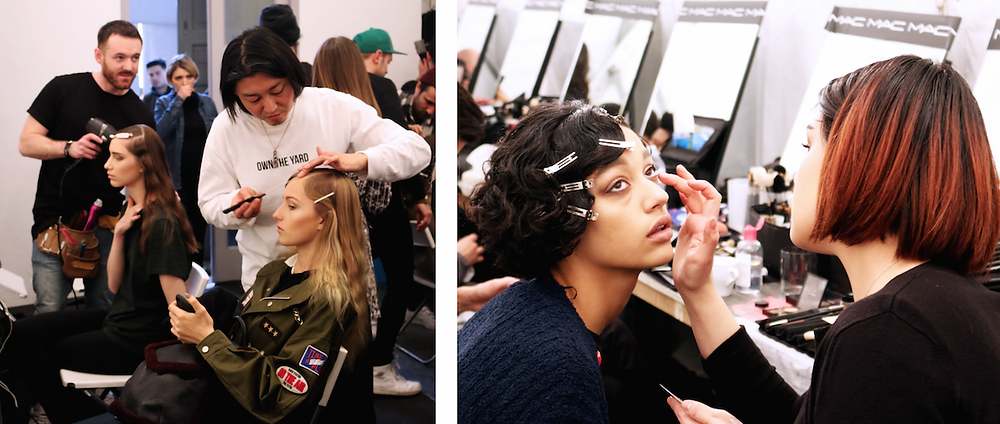 BLUMARINE Backstage Milan Fashion Week