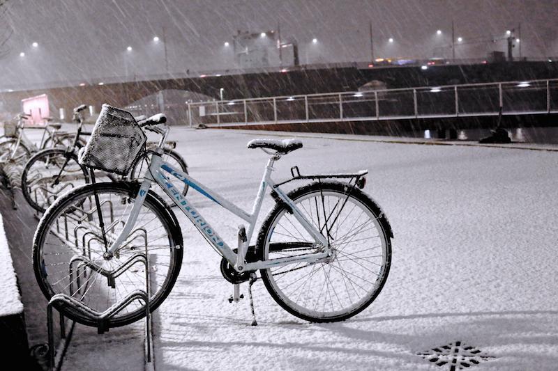 Winter Copenhagen Bicycles