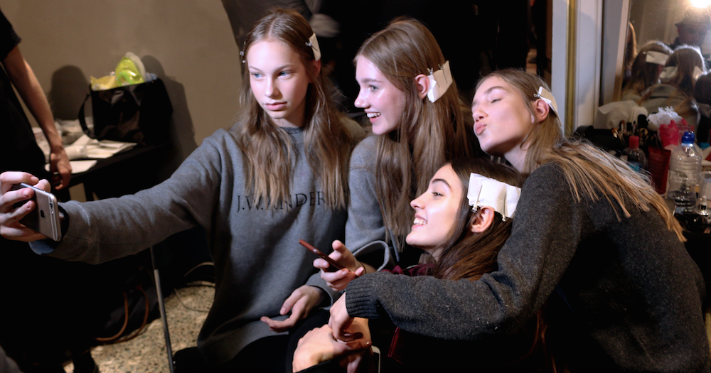 FRANCESCO SCOGNAMIGLIO Backstage Milan Fashion Week