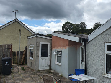 House Painted - Forest of Dean - Before