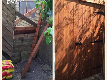 6ft feather edge gate