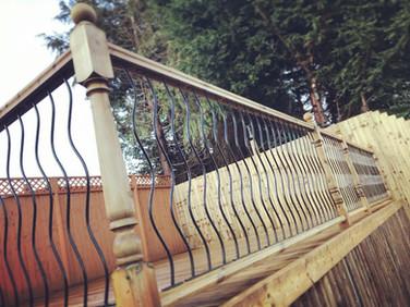 Decking and Balustrade
