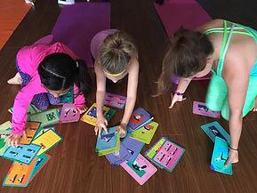 Kids Yoga have fun play lead teach yoga together