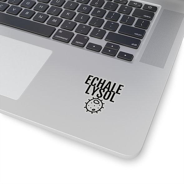 ECHALE LYSOL Sticker