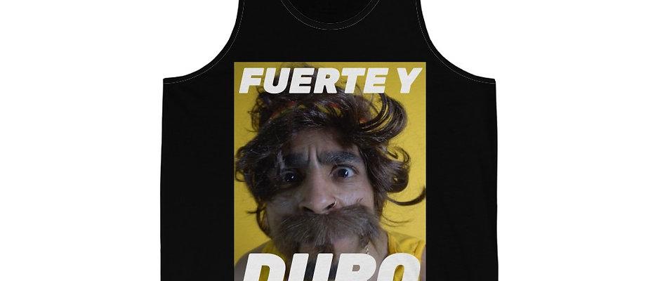 """""""Fuerte y Duro"""" Unisex Jersey Tank"""