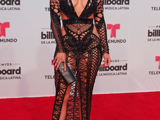 Jennifer Lopez Knocks Red Carpet Gown Out Of The Park At Billboard Latin Music Awards