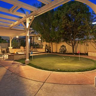 4813 Fairport Backyard