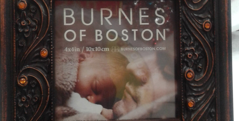 Marco cuadrado en resina fina by Burnes of Boston