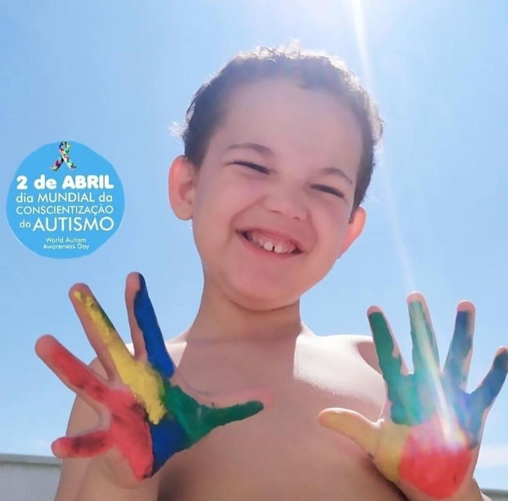Imagem autorizada pelos pais Pâmela Meireles e Rodrigo Gouveia