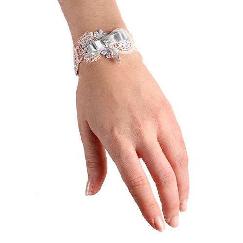 Bracelet Ecarlate Emi beige