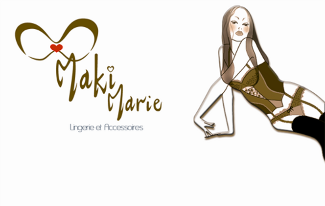Creation Bijoux lingerie Maki Marie Made in France