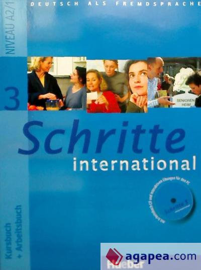 SCHRITTE INTERNATIONAL 3 KB+AB+CD