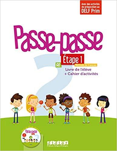 Passe-passe 2 Etape 1 A1: Livre de l'élève + Cahier d'activités