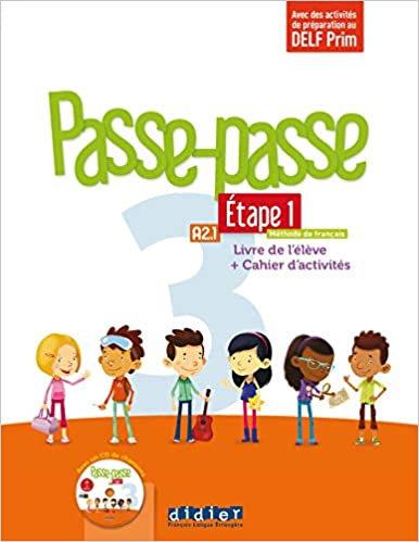 Passe - Passe niv. 3 - Etape 1 - Livre + Cahier