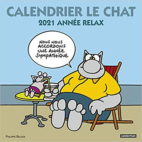 Le Chat - Année relax. Edition 2021