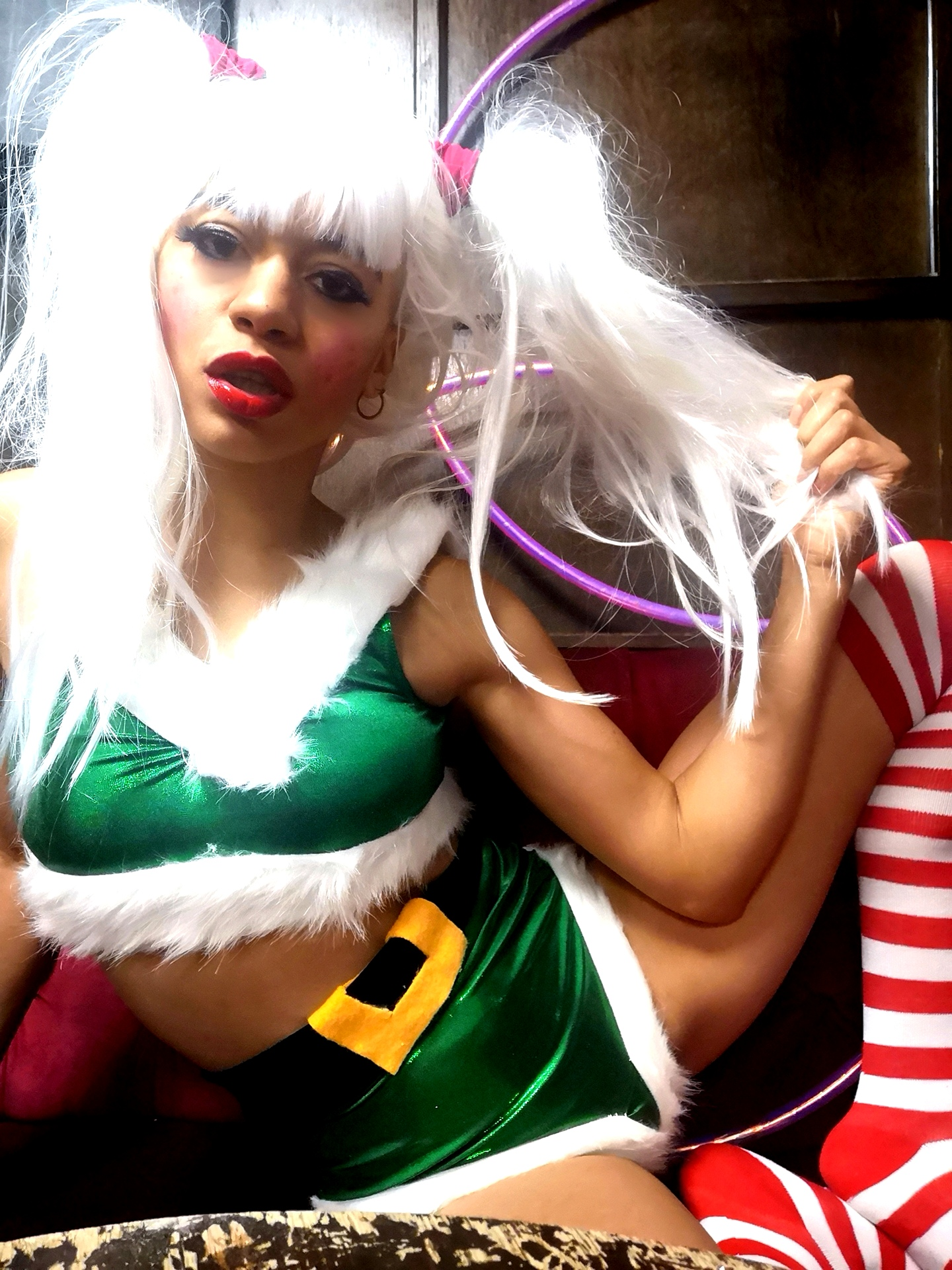 Santa's lil helper at Sleaze (Xmas Edition)
