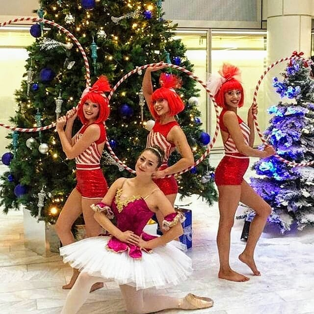 Candy Cane Christmas performance