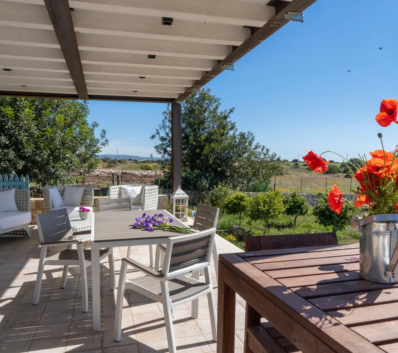 Дом с террасой, отдых на Сицилии