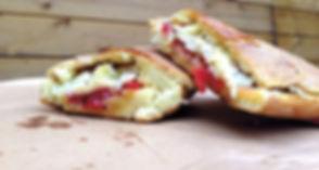 Pane-Cunzato, Пани Кунзато, Уличная еда Сицилии